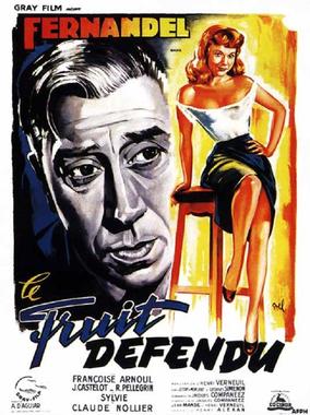 Le fruit défendu, 1952   Affiche cinéma, Affiche film