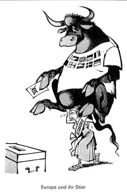 Caricature d'Haitzinger sur les premières élections au ...