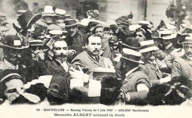 Le village d'ARGELIERS et la crise viticole de 1907 - www ...
