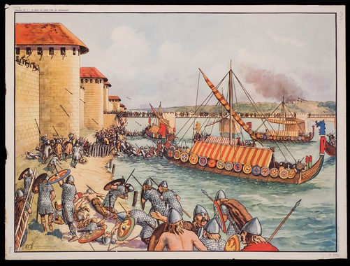 Viking siege of Paris | Vikings, History, History facts