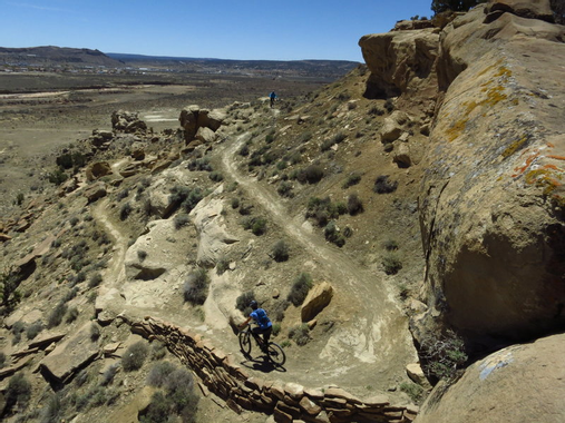 High Desert Trail System, 3rd and 2nd Mesa Loop Mountain ...