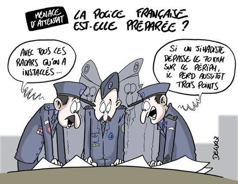 Menace d'attentat : La police française est-elle préparée ...