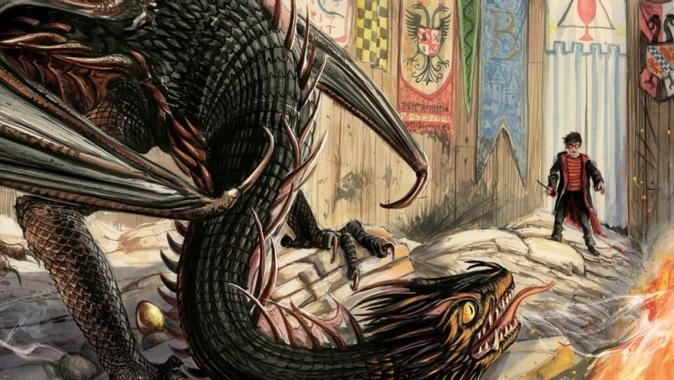 Les premières images de Harry Potter et la coupe de feu ...