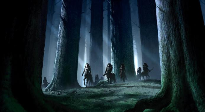 Forbidden Forest - Harry Potter Wiki