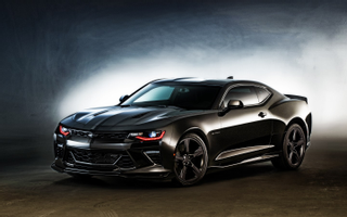 Download 2016 Chevrolet Camaro Black Wallpaper