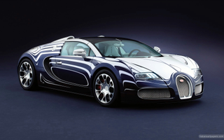 Download 2011 Bugatti Veyron Grand Sport Wallpaper