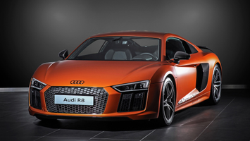 Download 2015 Hplusb Design Audi R8 V10 Wallpaper