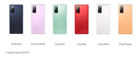 Vitre arrière Samsung Galaxy S20 FE 5G cloud navy