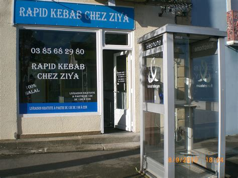 Numero telephone  RAPID KEBAB CHEZ ZIYA à MONTCEAU LES MINES
