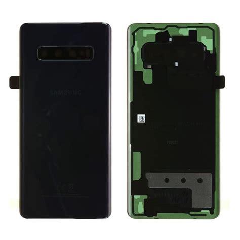 Cache batterie samsung s10 noir