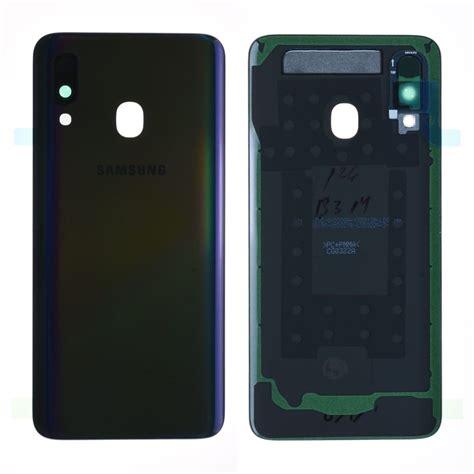 Samsung vitre arrière Galaxy A72 noir