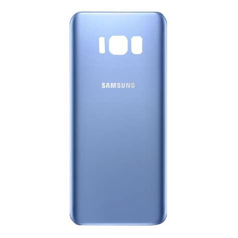 Samsung vitre arrière Galaxy A12 bleu
