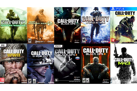 TOP 10 Call of Duty GAMES of ALL TIME! (👎WORST - BEST ...