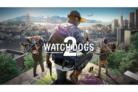 Watch Dogs 2 Video Game Wallpapers - Wallpaper Cave