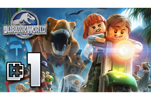 Jurassic World LEGO Game!! GIVEAWAY!! - Ep1 - YouTube