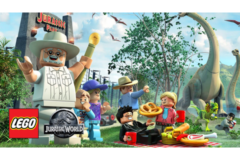 LEGO Jurassic World: The Video Game - New Artwork - YouTube