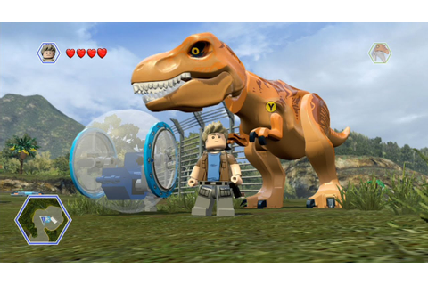 LEGO Jurassic World - Isla Nublar 2 - Open World Free Roam ...
