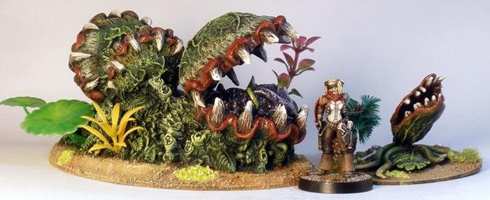 Deathworld Jungle: #1 – Armorcast Alien Plants | 40k ...
