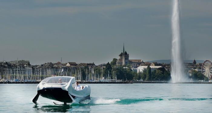 SeaBubbles préfère la Suisse à Paris pour ses tests, Actu