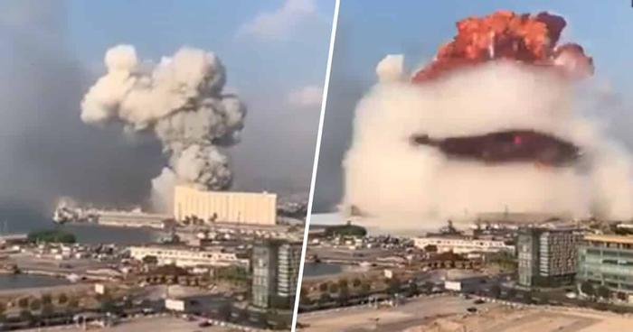 URGENT : Une puissante explosion retentit à Beyrouth [VIDEOS]
